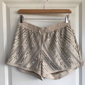 Bebe sequin shorts
